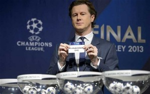 The 2012/13 Champions League second round draw pitted Manchester United against Real Madrid - a draw seen as inevitable by many
